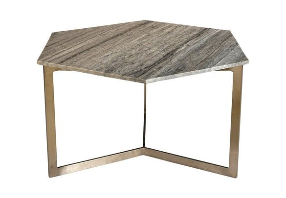 Say Hello To This Stunning Coffee Table! The Vargo Hex!
