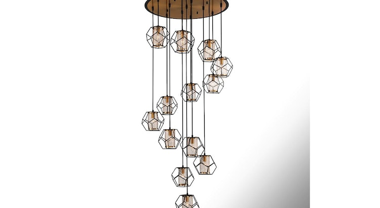 We Are Smitten with Our Dazzling Bettino Chandelier!