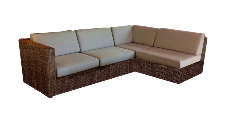 The Sag Harbor Sectional is Perfect for Outdoors!