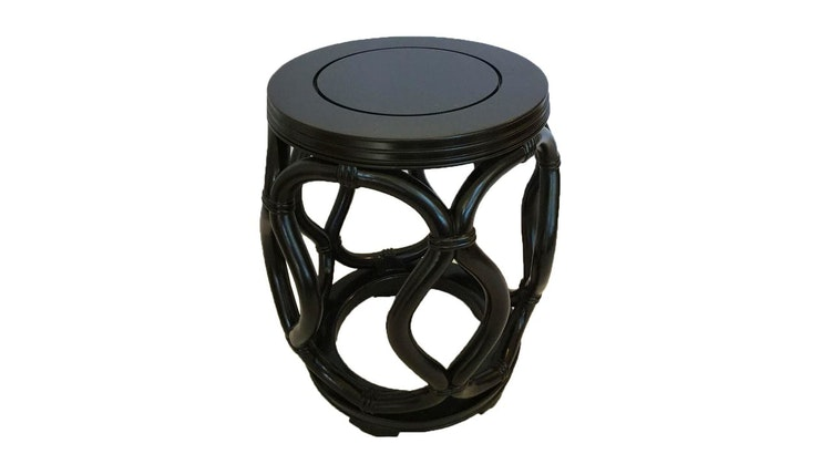 Say Hello To Our Vintage Solid Wood Garden Stool!