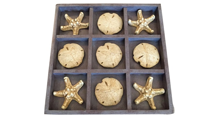 Enjoy The Seashell Tic Tac Toe In Your Home!