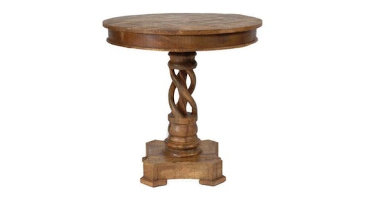 Spotlights on The Bengal Manor Accent Table!