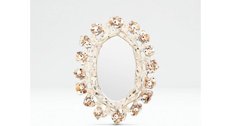 The Oyster Shell Mirror Is Drool Worthy!