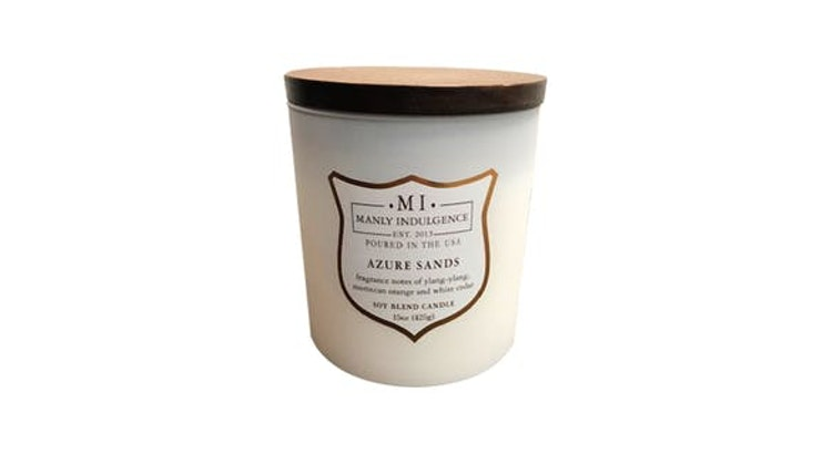 Every Man In Your Life Needs The Manly Indulgence Candle!