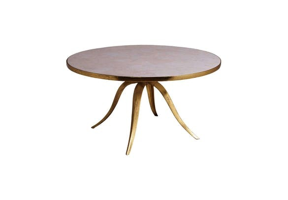 Introducing the Crystal Stone Round Cocktail Table