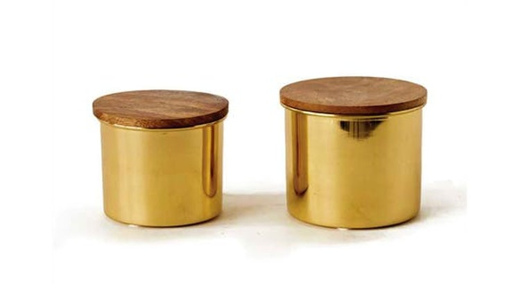 Our Gold Canisters Are To Die For!!