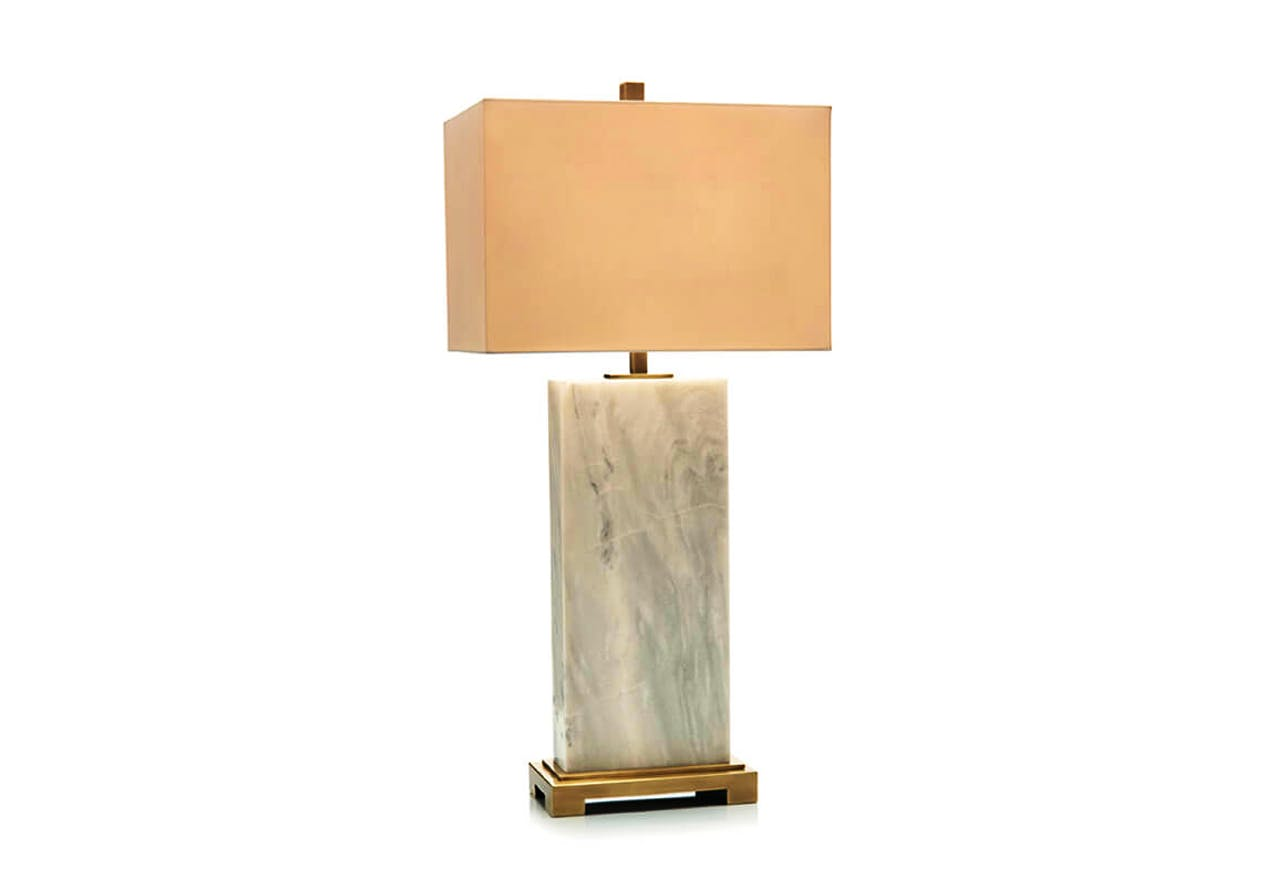 Marble Slab Table Lamp Bliss Home Design Boutique