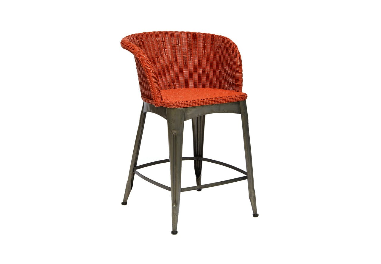 Palecek Navy Counter Stool Tuvalu Boutique Furniture In Laguna