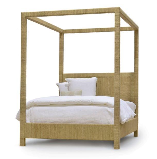 Photo of Palecek Woodside Canopy Bed