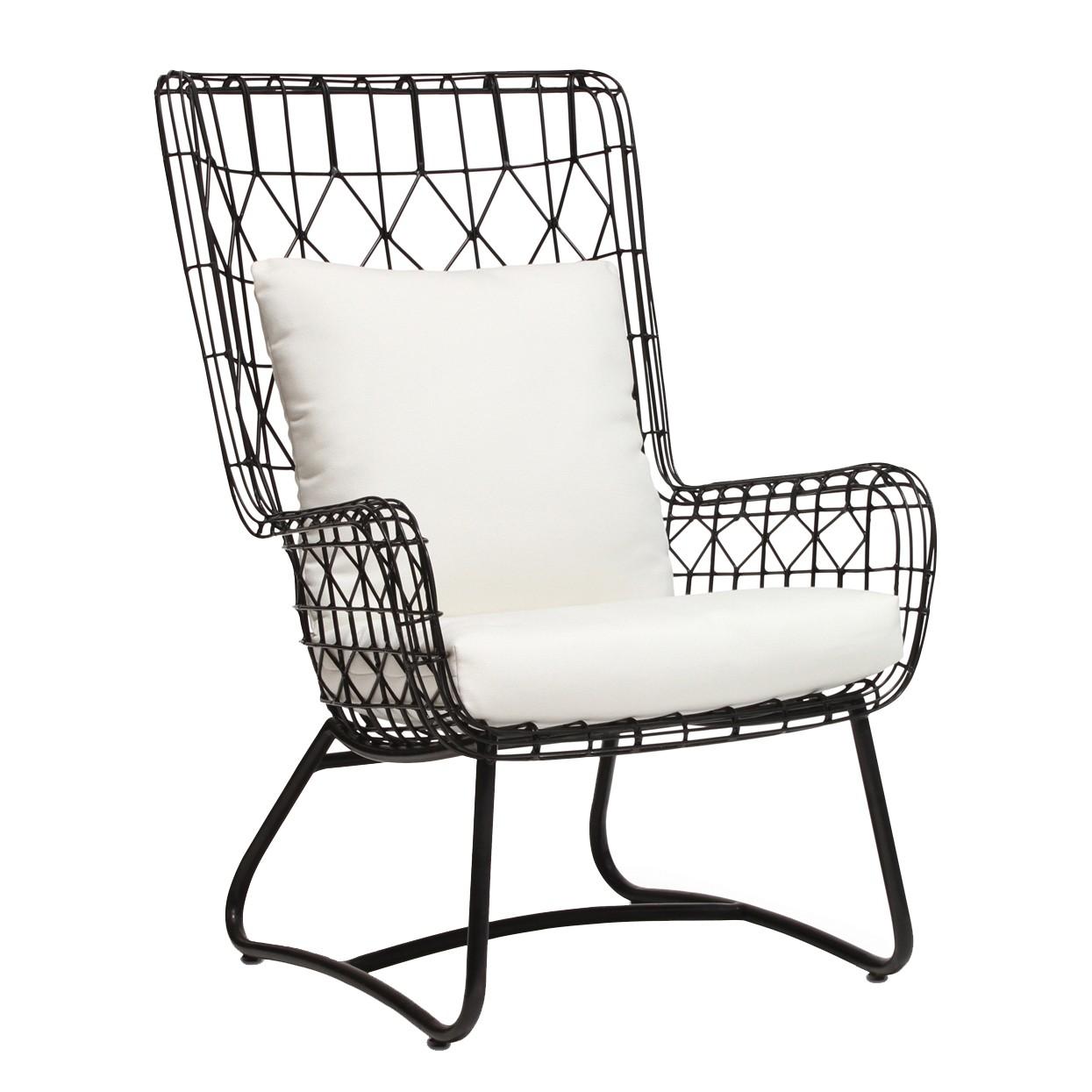 Palecek Capri Outdoor Wing Chair | Tuvalu | Boutique furniture in Laguna  Beach, CA | Design Kollective - Palecek Capri Outdoor Wing Chair Tuvalu Boutique Furniture In