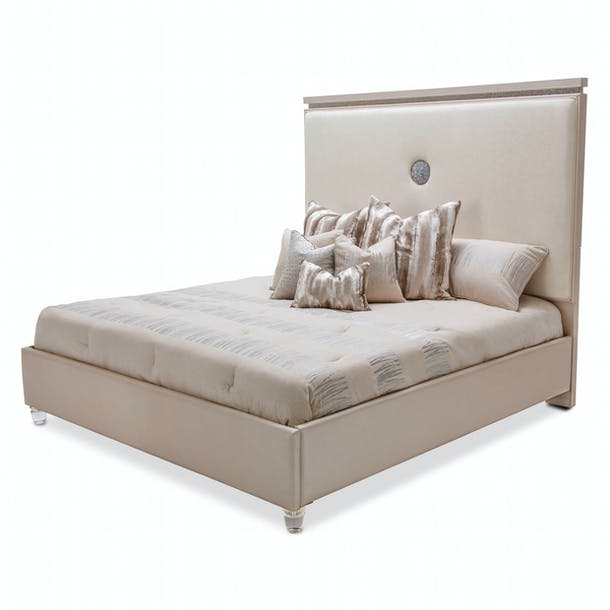Photo of Glimmering Heights - King Upholstered Bed