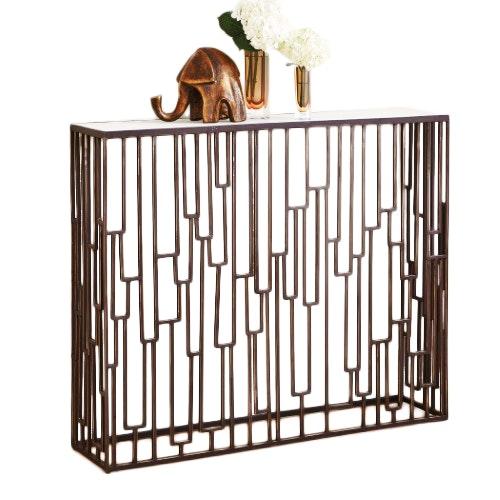 Hall Table White Marble | Juniper Hill Furniture U0026 Design | Boutique  Furniture In Reno, NV | Design Kollective