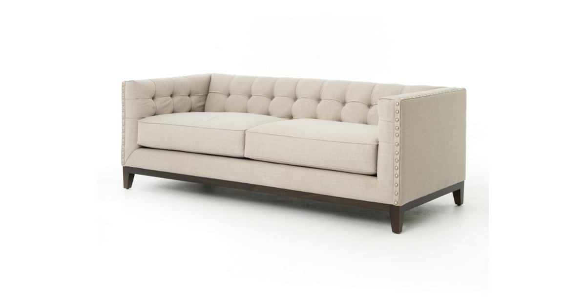 Carroll Two Cushion Sofa Marco Polo Imports Design Kollective