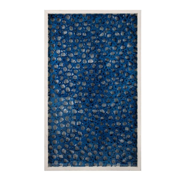 Photo of Indigo Blue Paper Art