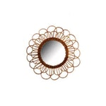 Natural Rattan Mirror - Medium, Loop