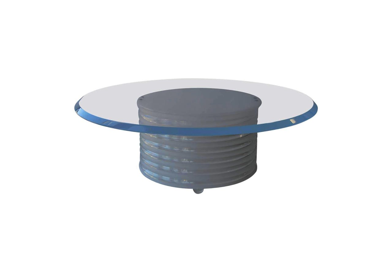 The Cylinder Acrylic Coffee Table