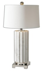 White Marble Lamp