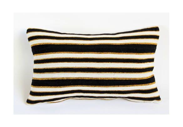 Vintage Yoruba Tribe Lumbar Pillow   Mix Furniture   Boutique furniture in Los  Angeles, CA   Design Kollective - Vintage Yoruba Tribe Lumbar Pillow Mix Furniture Boutique