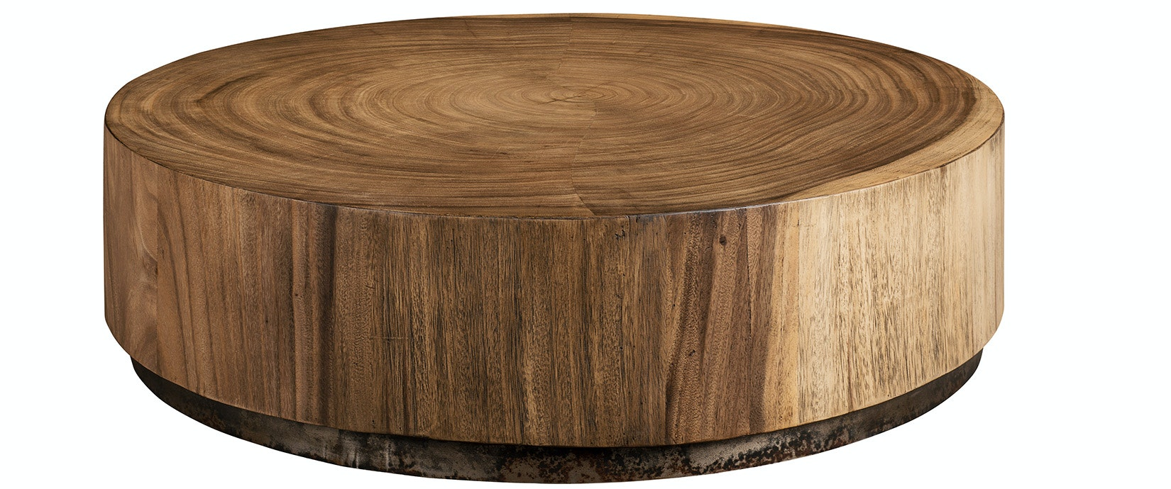 Cylinder Wood Coffee Table | ARTISTIC HABITAT | Boutique Furniture In  Redondo Beach, CA | Design Kollective