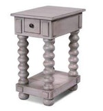 Hill Country Side Table Gray