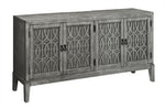 The Gothic Inspired Media Credenza