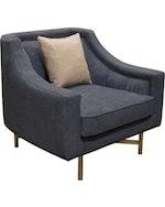 Croft Navy Blue Sofa