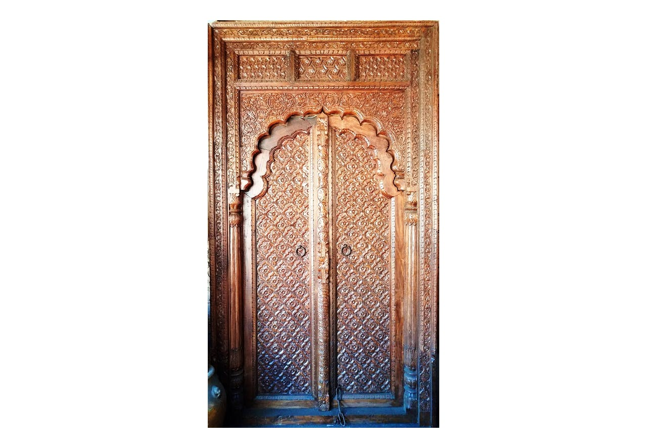 Vintage Indian Mughal Palace Door One Of A Kind Out