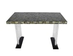 Abalone and Lucite Writing Desk