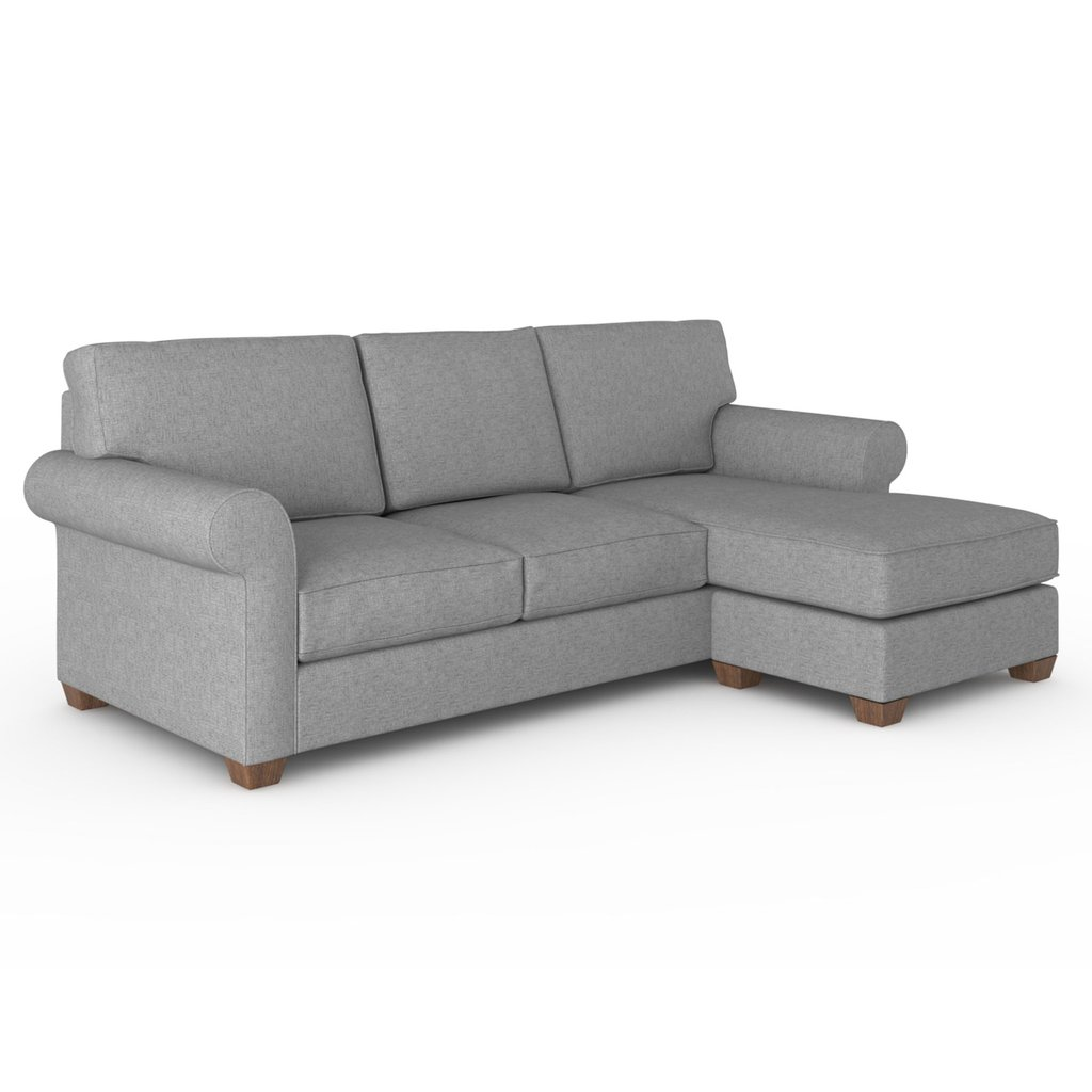 Tess Sofa W/ Reversible Chaise By Skylaru0027s Home And Patio | Design  Kollective