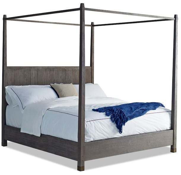 Photo of Cal King Canopy Bed