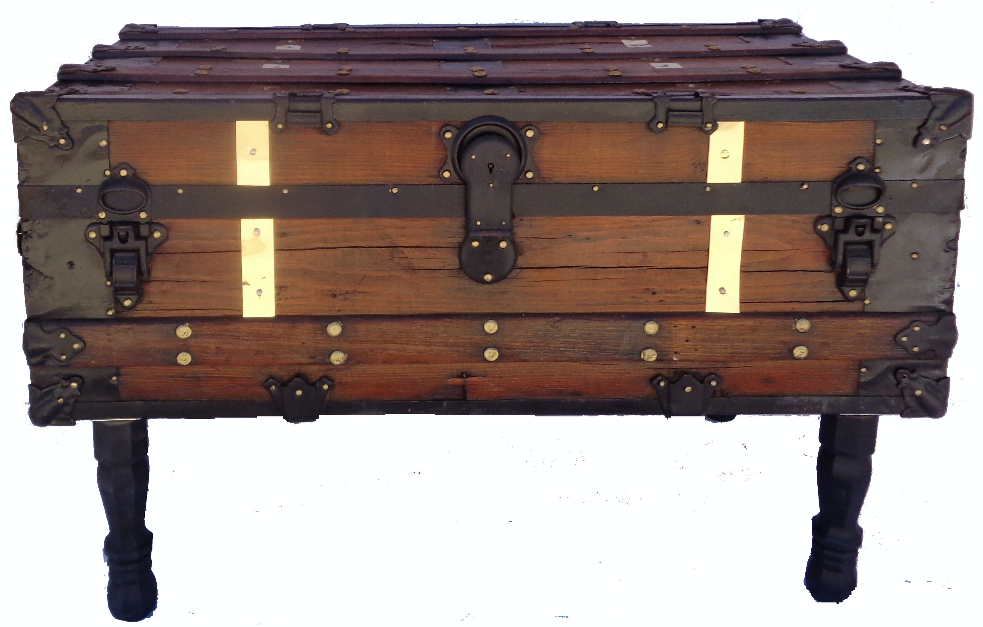 Antique Steamer Trunk/Coffee Table | Antique Trunk Restoration U0026 Design |  Boutique Furniture In Palm Springs, CA | Design Kollective